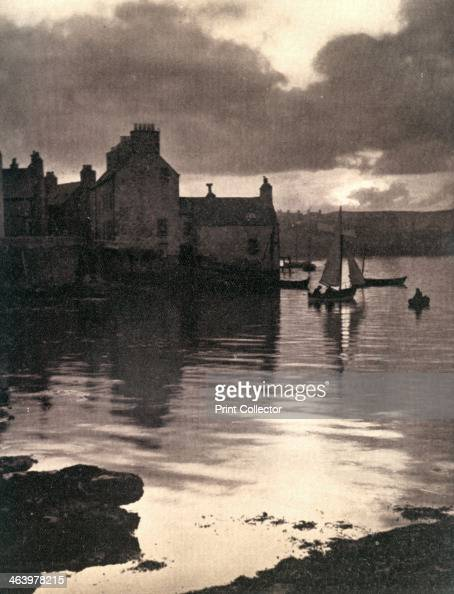 Lerwick Harbour Shetland Scotland 19241926 A photo from Hutchinson's Britain Beautiful edited by Walter Hutchinson Volume 4 Hutchinson and Co 19241926