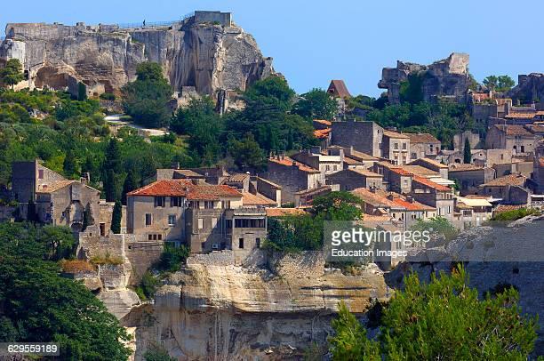Les baux de provence stock photos and pictures getty images - Office du tourisme des baux de provence ...