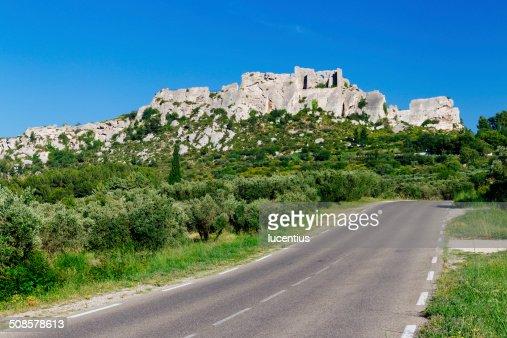 Les Baux-de-Provence, France : Stockfoto
