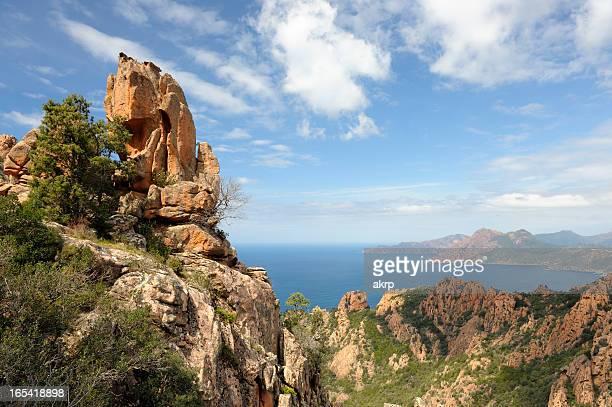 Les Calanches sur l'île de la Corse