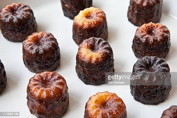 Les Caneles de Bordeaux cakes regional speciality food from Bordeaux France