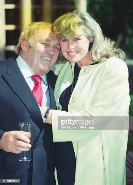 Les Dawson and his wife Tracey The couple are expecting a child in October which will be their first together