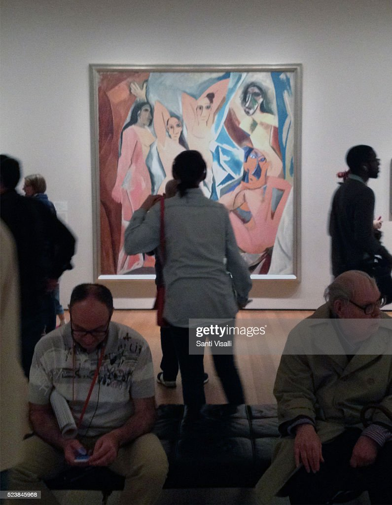 les demoiselles davignon essay Pablo picasso painted 'les demoiselles d'avignon' before his cubist style had  been completely developed however it does contain many elements of cubism.