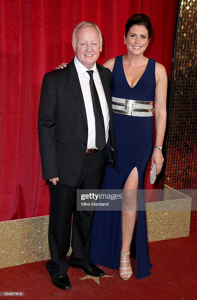 <a gi-track='captionPersonalityLinkClicked' href=/galleries/search?phrase=Les+Dennis&family=editorial&specificpeople=228977 ng-click='$event.stopPropagation()'>Les Dennis</a> and Claire Nicholson attend the British Soap Awards 2016 at Hackney Empire on May 28, 2016 in London, England.