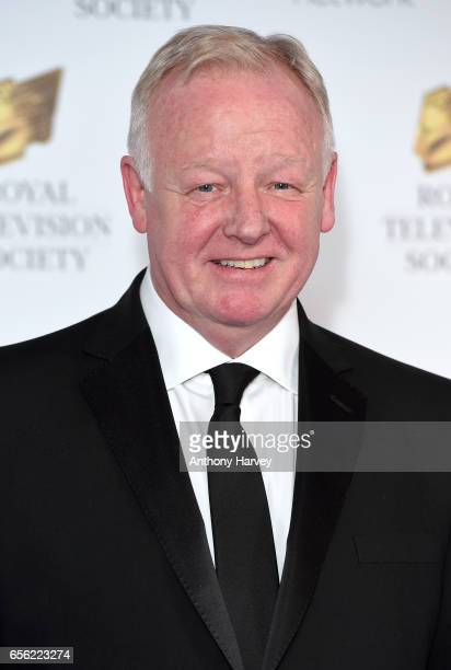 Les Dennis attends the Royal Television Society Programme Awards on March 21 2017 in London United Kingdom