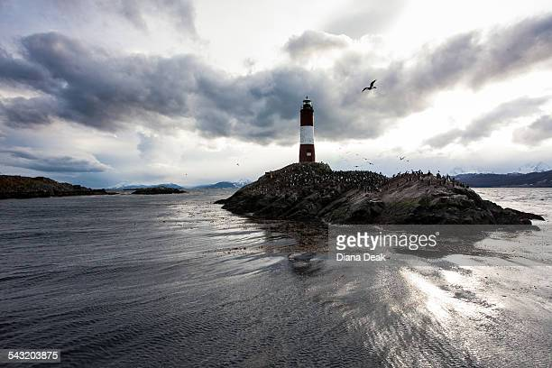 Les Eclaireurs Lighthouse, Ushuaia, Tierra del Fuego, Argentina