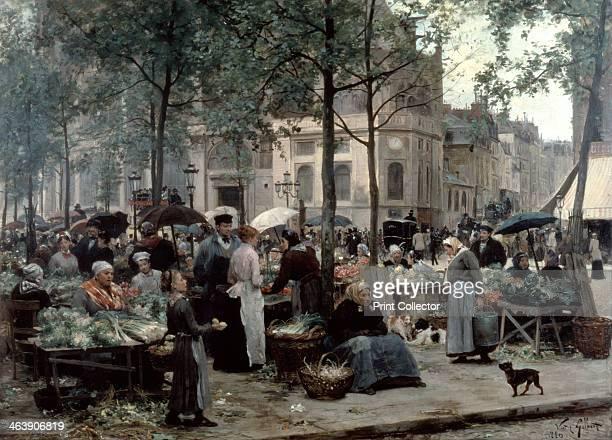 'Les Halles Paris 'Central Market'' 1880