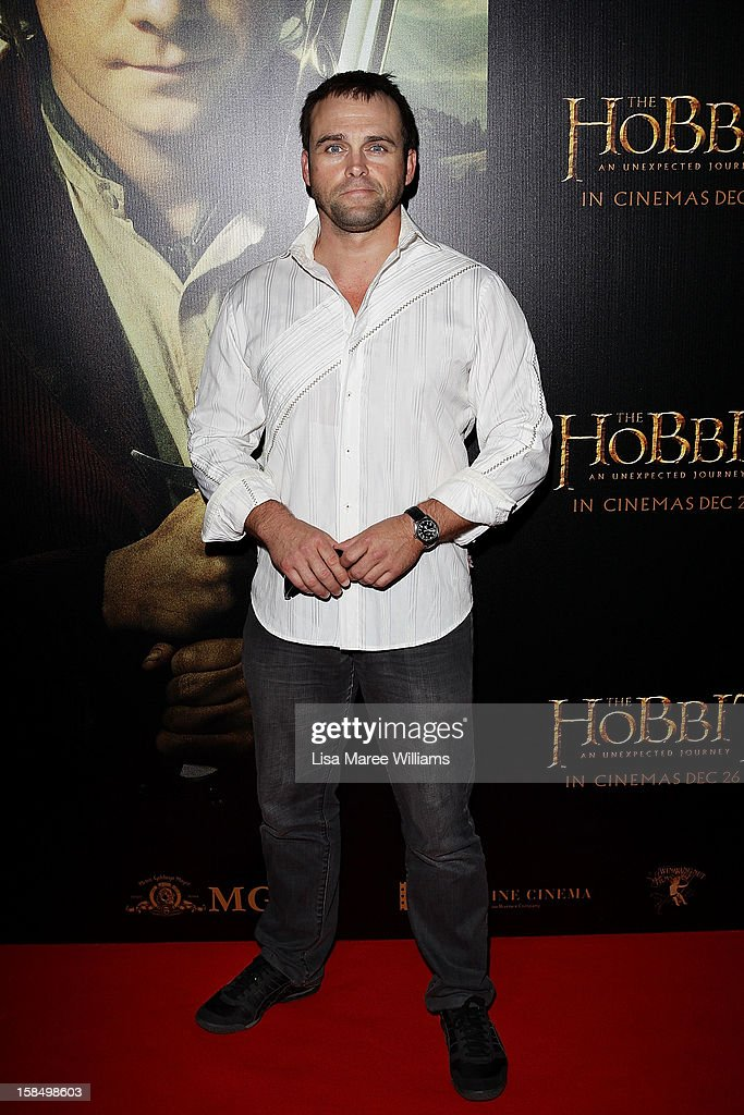 Les Hill attends the Sydney premiere of 'The Hobbit: An Unexpected Journey' at George Street V-Max Cinemas on December 18, 2012 in Sydney, Australia.