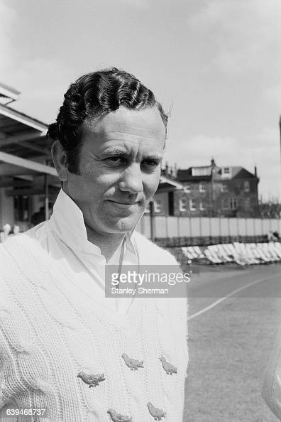 Les Lenham of the Sussex County Cricket Club UK 28th April 1971