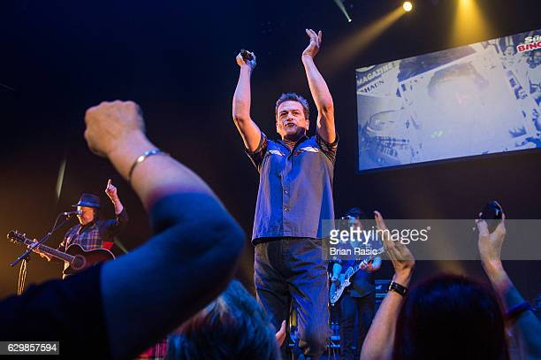 Les McKeown of The Bay City Rollers performs at Eventim Apollo on December 14 2016 in London England