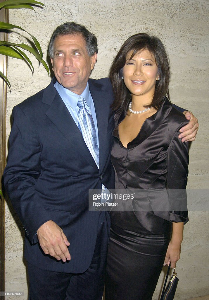 Les Moonves and girlfried Julie Chen during Newsweek Party for The Republican Convention Given by Lally Weymouth at The Four Seasons Restaurant in...