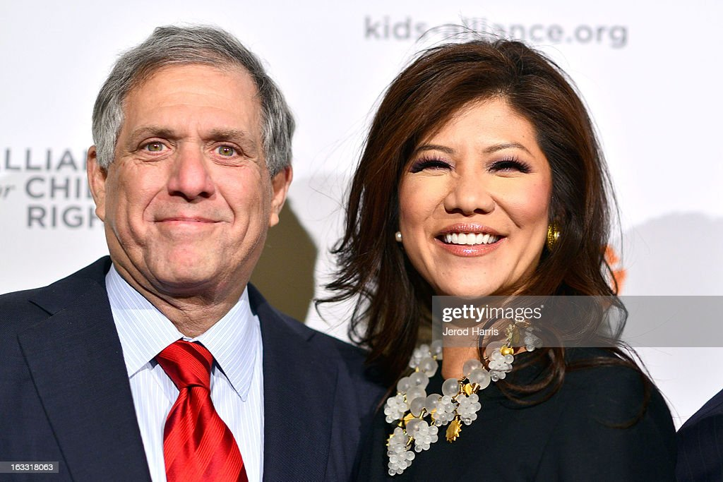 <a gi-track='captionPersonalityLinkClicked' href=/galleries/search?phrase=Les+Moonves&family=editorial&specificpeople=210763 ng-click='$event.stopPropagation()'>Les Moonves</a> and <a gi-track='captionPersonalityLinkClicked' href=/galleries/search?phrase=Julie+Chen&family=editorial&specificpeople=206213 ng-click='$event.stopPropagation()'>Julie Chen</a> arrive at The Alliance for Children's Rights 21st annual gala at The Beverly Hilton Hotel on March 7, 2013 in Beverly Hills, California.