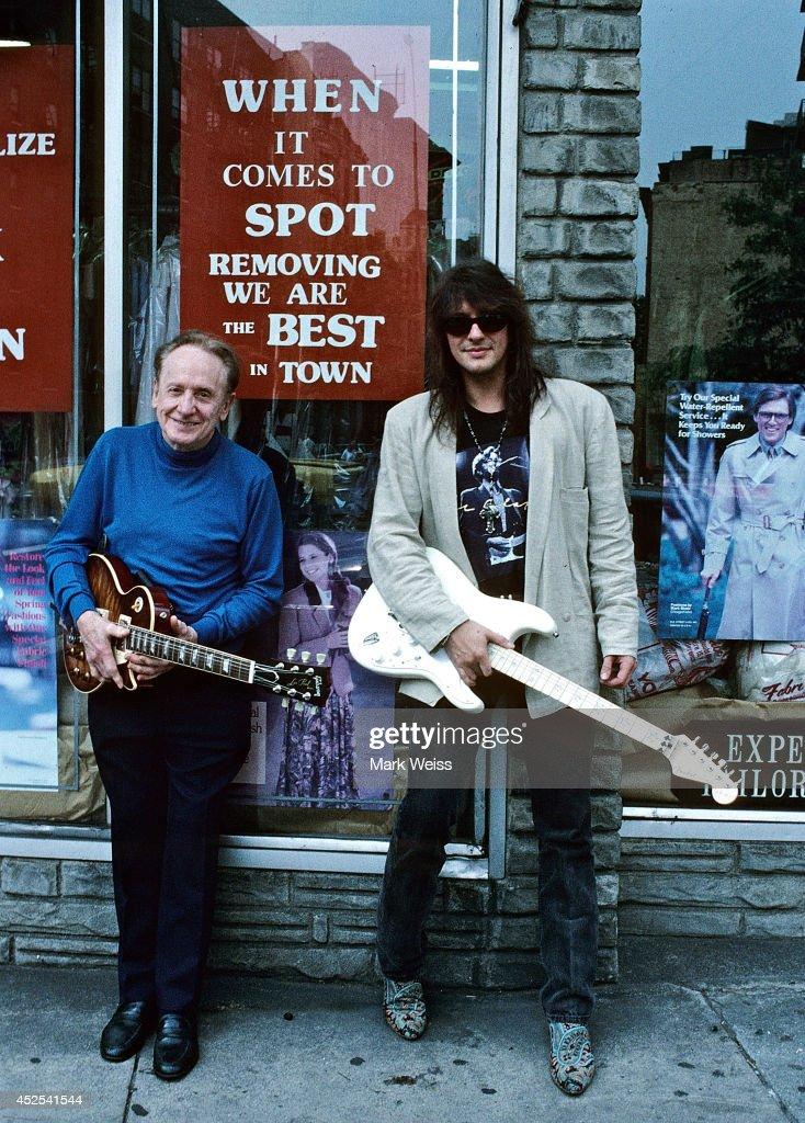 Les Paul And Richie Sambora At Fat Tuesday's