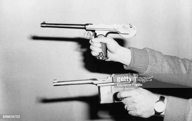 Les pistolets semiautomatique 9x19MM calibre Parabellum utilisés pendant la Première Guere mondiale