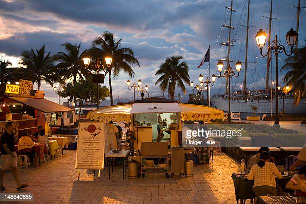 Les Roulottes mobile restaurants and sailing cruiseship Star Flyer.