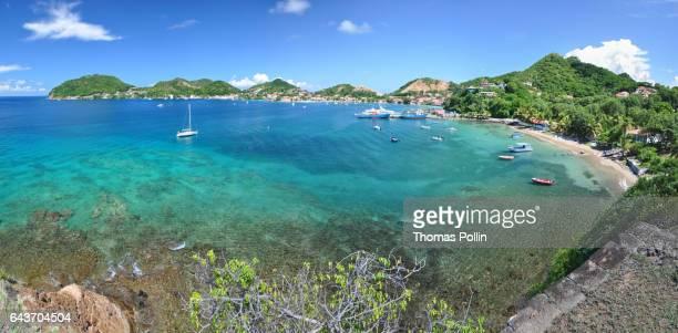 Les Saintes turquoise bay panorama