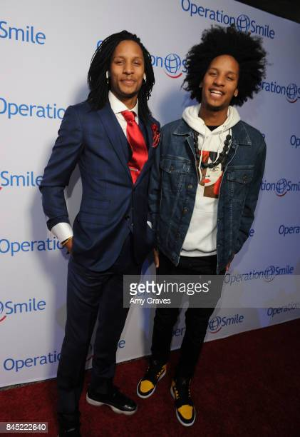 Les Twins attend Operation Smile's Annual Smile Gala Inside at the Broad Stage on September 9 2017 in Santa Monica California