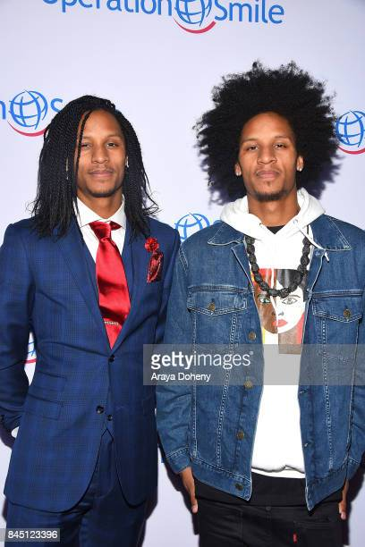 Les Twins attend the Operation Smile's Annual Smile Gala at The Broad Stage on September 9 2017 in Santa Monica California