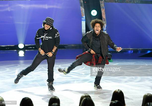 Les Twins perform a dance routine on SO YOU THINK YOU CAN DANCE airing Wednesday September 3 on FOX