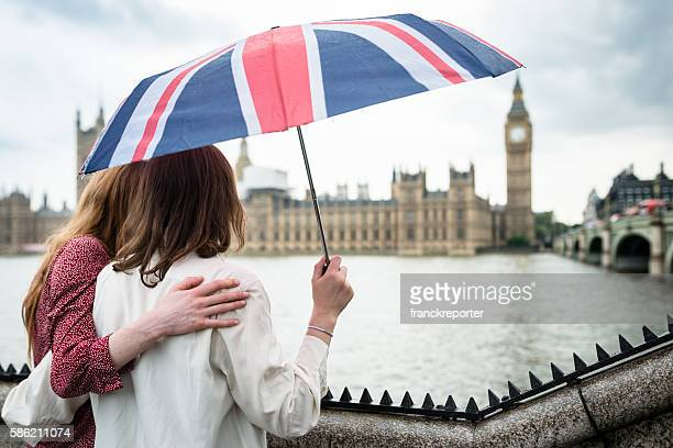 lesbian couple in london under the uk umbrella