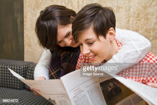 Lesbian Reading 4
