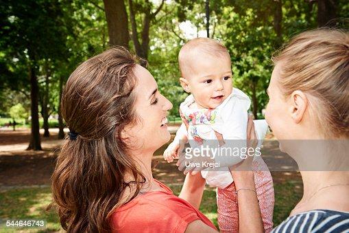Lesbian Couple Baby 86