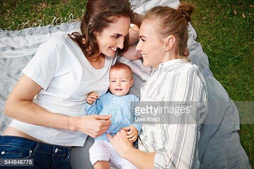 Lesbian Couple Baby 112