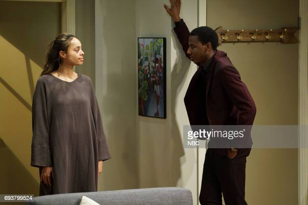 SHOW 'Lesbian Wedding' Episode 305 Pictured Amber Stevens West as Maxine North Jerrod Carmichael as Jerrod Carmichael