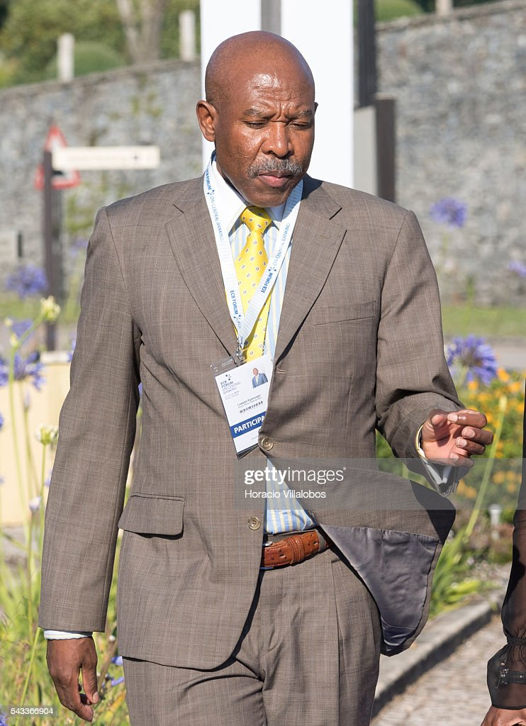 Lesetja Kganyago, Governor of the Reserve Bank of South Africa, arrives to participate in the ECB Forum on Central Banking on June 27, 2016 in Sintra, Portugal. The third annual European Central Bank Forum on Central Banking focuses on 'The future of the international monetary and financial architecture', a key topic of debate among economists and policymakers. Some 150 central bank governors, academics, financial journalists and high-level financial market representatives will discuss current policy issues and the chosen topic from a longer-term perspective.