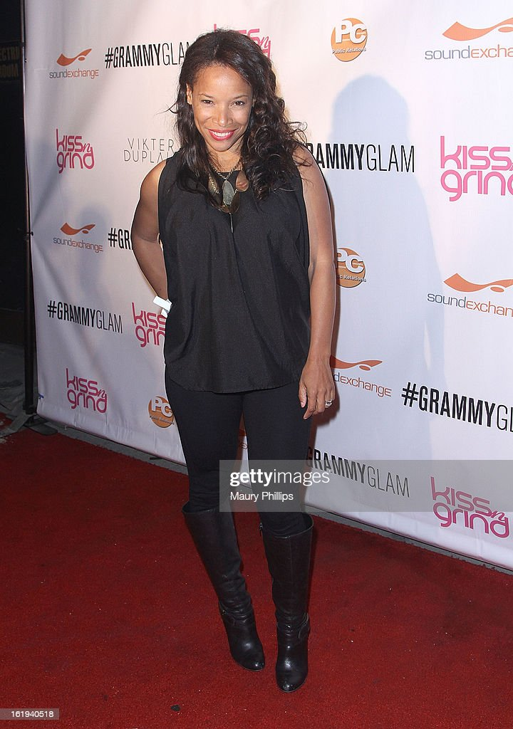 LeShay T. Boyce attends The 6th Annual Kiss-N-Grind GRAMMY Edition hosted by Common with Vikter Duplaix and music producer The Twilite Tone at Arena Nightclub on February 8, 2013 in Hollywood, California.