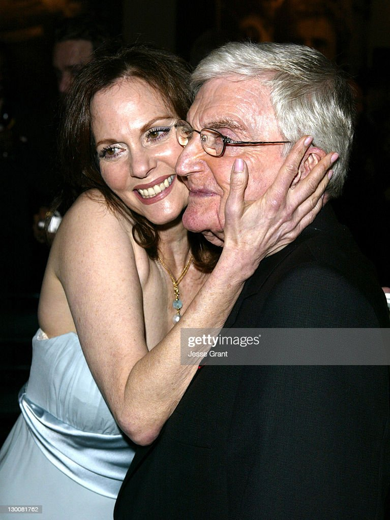 Lesley Ann Warren and Blake Edwards during Reception for Blake Edwards, Honorary Academy Award Recipient - February 26, 2004 at The Annex, Hollywood & Highland in Hollywood, California, United States.