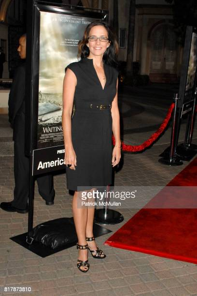 Lesley Chilcott attends Waiting For 'Superman' Premiere at Paramount Theatre on September 20 2010 in Hollywood California