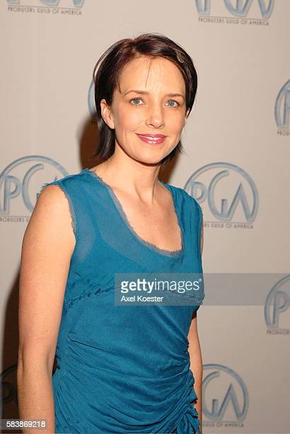 Lesley Chilcott producer of 'An Inconvenient Truth' arrives to the Producers Guild of Amercia Awards banquet at the Hyatt Regency Century Plaza Hotel...