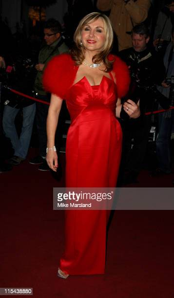 Lesley Garrett arrives for the Laurence Olivier Awards 2008 at Grosvenor House on March 9 2008 in London England