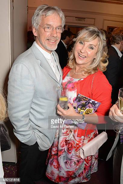 Lesley Garrett attends an after party celebrating the press night performance of 'Benvenuto Cellini' directed by Terry Gilliam for the English...