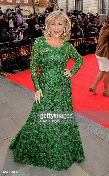 Lesley Garrett attends the Laurence Olivier Awards at the Royal Opera House on April 13 2014 in London England