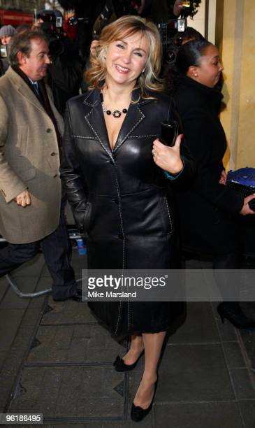 Lesley Garrett attends The South Bank Show Awards at The Dorchester on January 26 2010 in London England