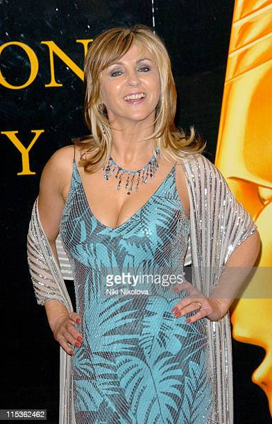 Lesley Garrett during RTS Programme Awards 2004 at Grosvenor House Hotel in London Great Britain