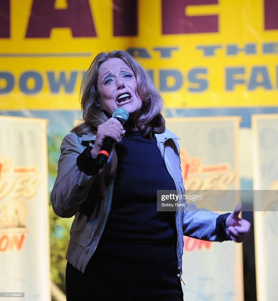 Lesley Gore performs at the Cousin Brucie's First Annual Palisades Park Reunion Presented By SiriusXM at State Fair Meadowlands on June 22, 2013 in East Rutherford, New Jersey.