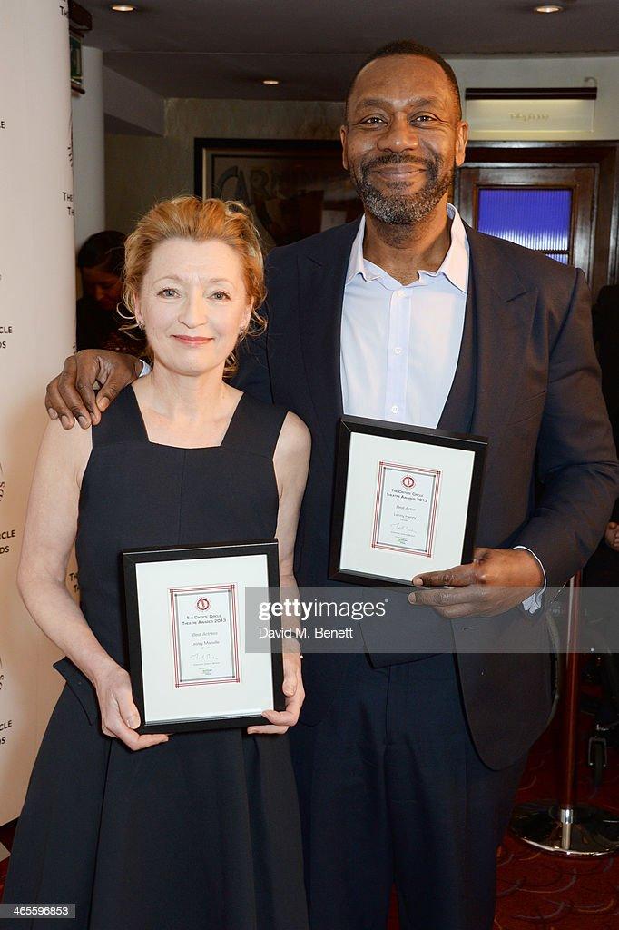 The 2014 Critics' Circle Theatre Awards - Inside