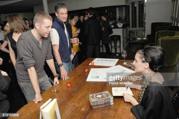 Lesley MM Blume attends 'Forgotten Fashion' book party honoring the release of Let's Bring Back by Lesley MM Blume at Library on November 16 2010 in...