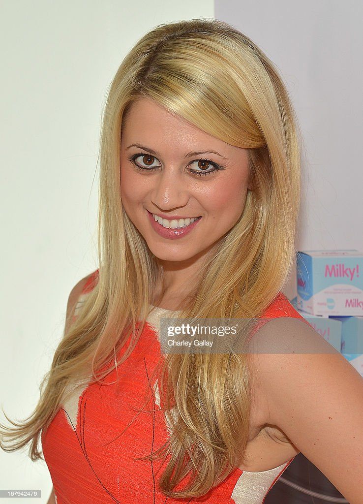 Lesley Murphy attends the Milky! launch event at A Pea In The Pod on May 2, 2013 in Beverly Hills, California.