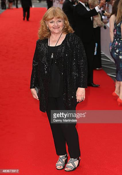 Lesley Nicol attends as BAFTA celebrate 'Downton Abbey' at Richmond Theatre on August 11 2015 in Richmond England