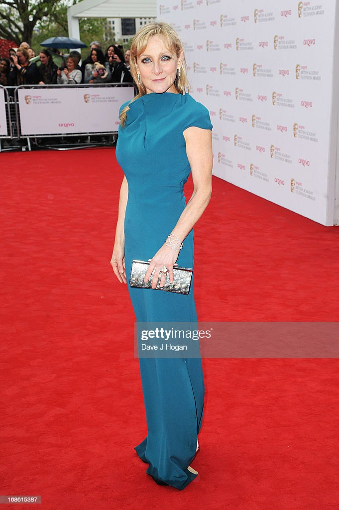 Lesley Sharp attends the BAFTA TV Awards 2013 at The Royal Festival Hall on May 12, 2013 in London, England.