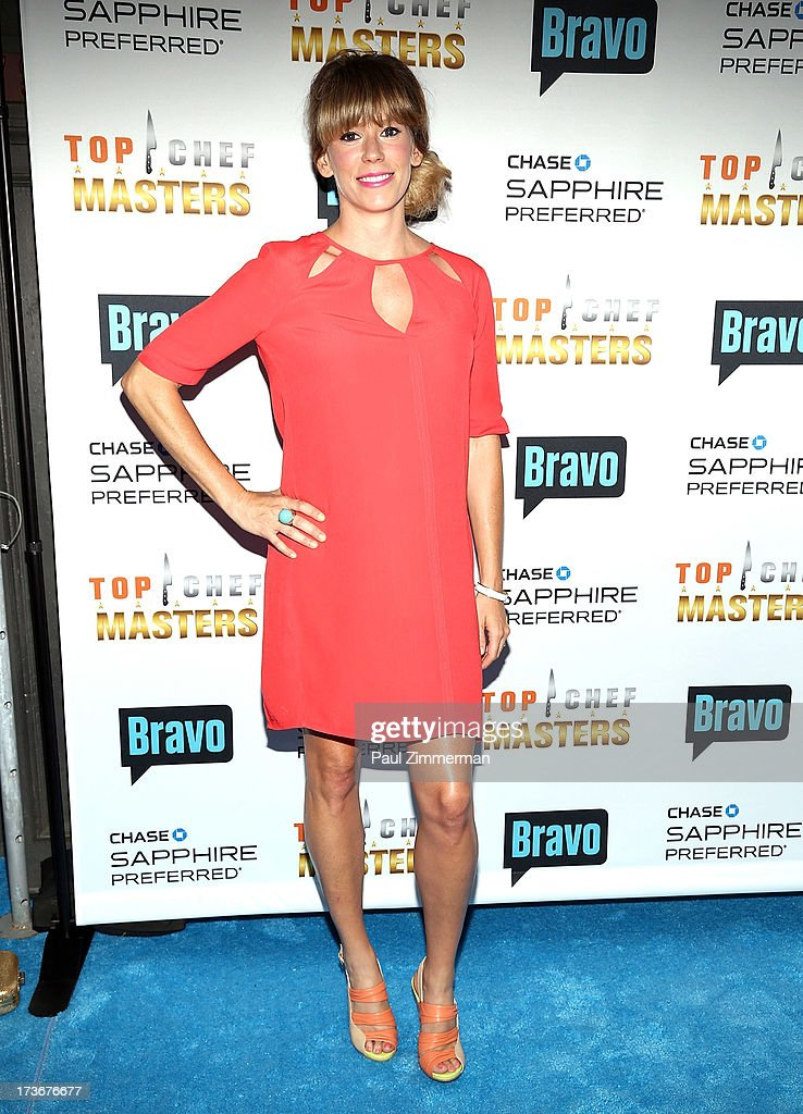 Lesley Sutter attends Bravo's 'Top Chef Masters' Season 5 Premiere Celebration at 82 Mercer on July 16, 2013 in New York City.