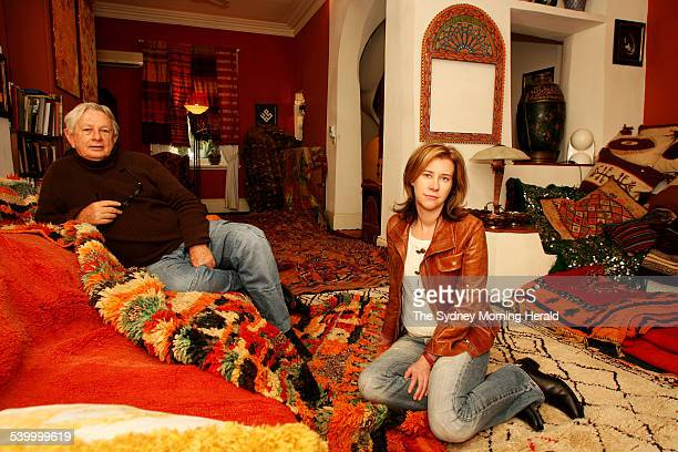 Lesley Walton and Madelienne Anderson from Dar Moor in Potts Point sellers Moroccan rugs and homewares 3 August 2006 SMH DOMAIN Picture by DOMINO...