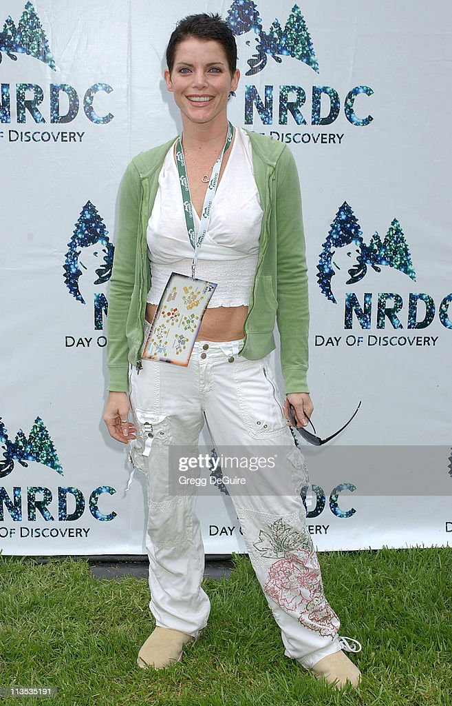 <a gi-track='captionPersonalityLinkClicked' href=/galleries/search?phrase=Lesli+Kay&family=editorial&specificpeople=624062 ng-click='$event.stopPropagation()'>Lesli Kay</a> during NRDC Day Of Discovery Fair - Arrivals at Wadsworth Theater Grounds in Westwood, California, United States.