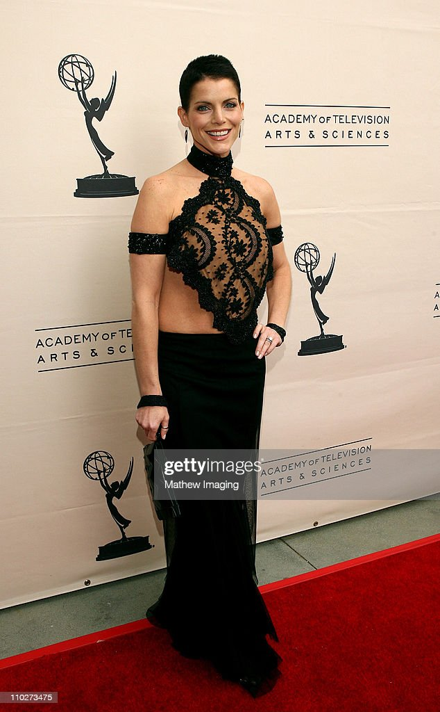 <a gi-track='captionPersonalityLinkClicked' href=/galleries/search?phrase=Lesli+Kay&family=editorial&specificpeople=624062 ng-click='$event.stopPropagation()'>Lesli Kay</a> during The 33rd Annual Daytime Creative Arts Emmy Awards in Los Angeles - Arrivals at The Grand Ballroom at Hollywood and Highland in Hollywood, California, United States.