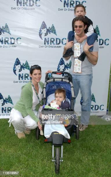 Lesli Kay son Alec Keith Coulouris and son Jackson