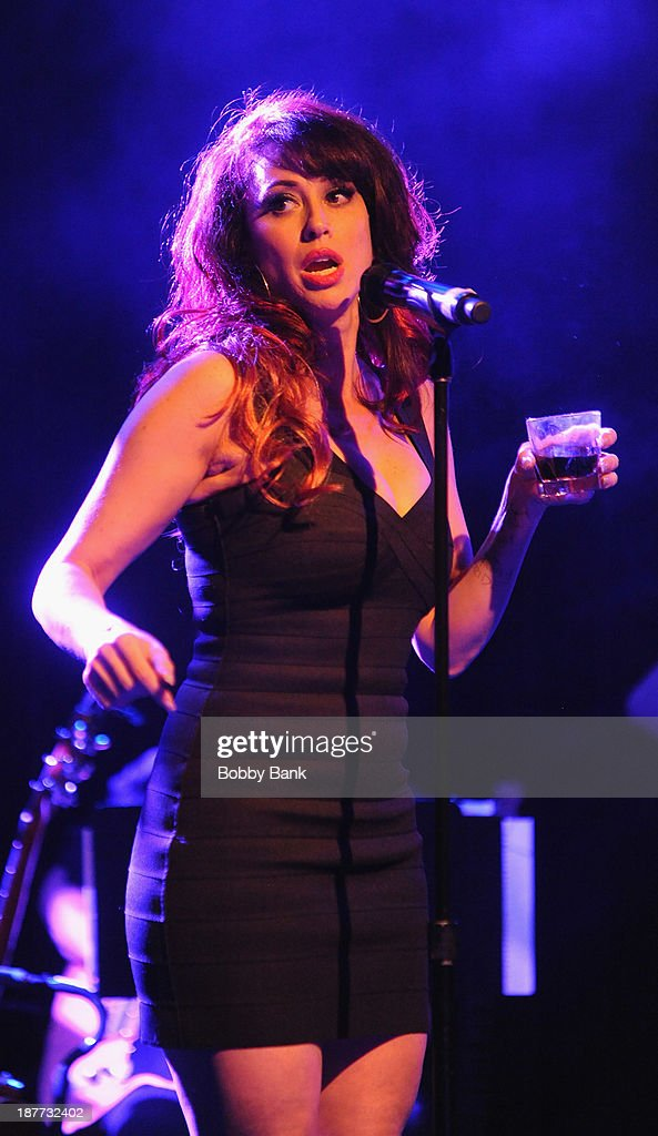 Lesli Margherita attends 2013 Rockers on Broadway at Le Poisson Rouge on November 11, 2013 in New York City.